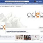 PAGE FACEBOOK FORMATION SKETCHUP