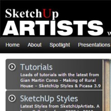 SKETCHUP ARTISTS
