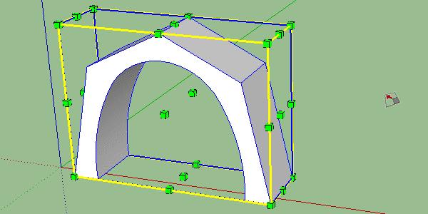 cage outil mise à l'échelle