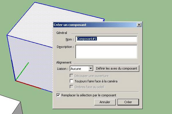 création composants