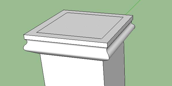corniche pilier