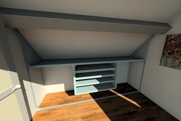 sketchup design de mobilier