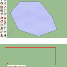 adhérence des géométries
