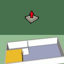 fonctions avancées de l'outil pousser/tirer