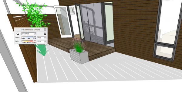 ombres SketchUp 2014