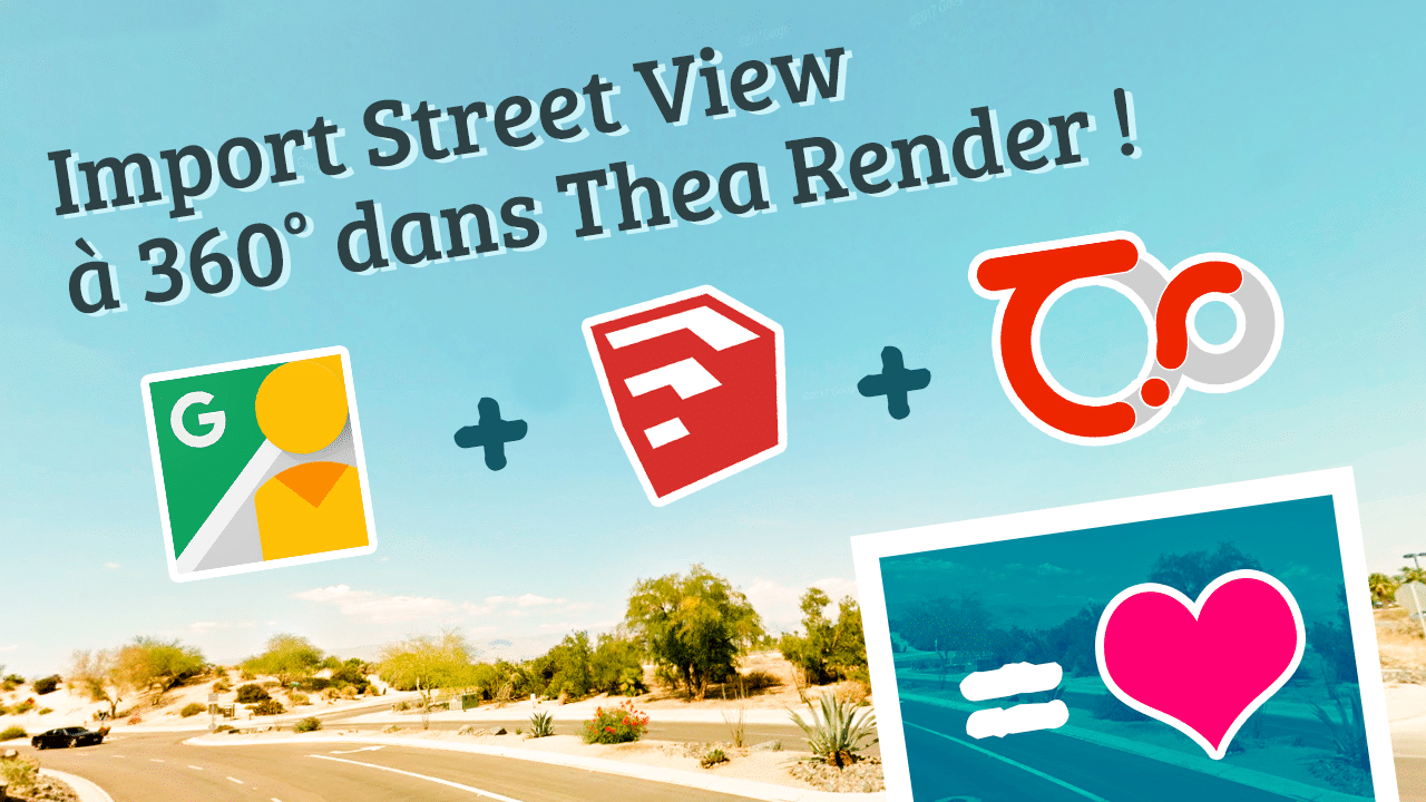 INSERTION D'UNE IMAGE À 360° dans Thea Render