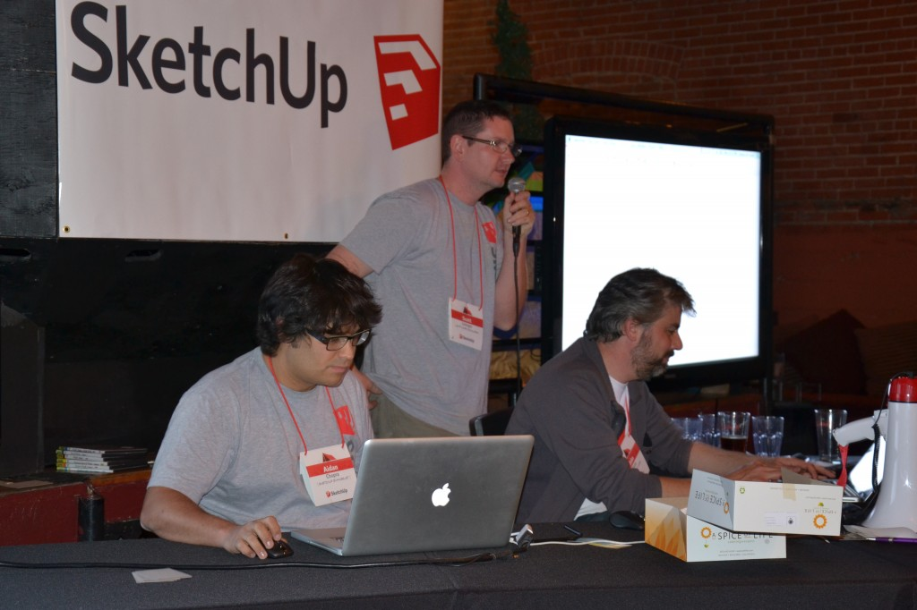 Pictionari à la sauce Sketchup avec Aidan Chopra et John Bacus
