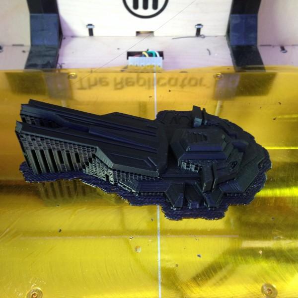 Impresssion 3D de la partie haute du tank