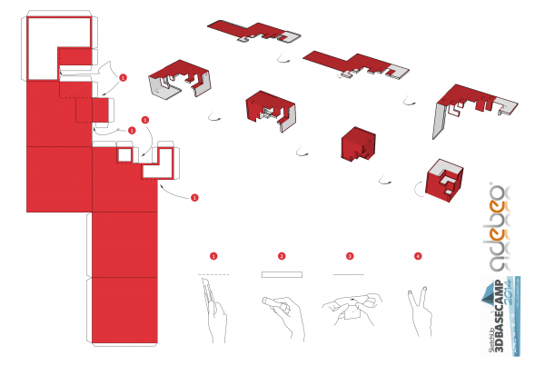 Sketchup Paper toy