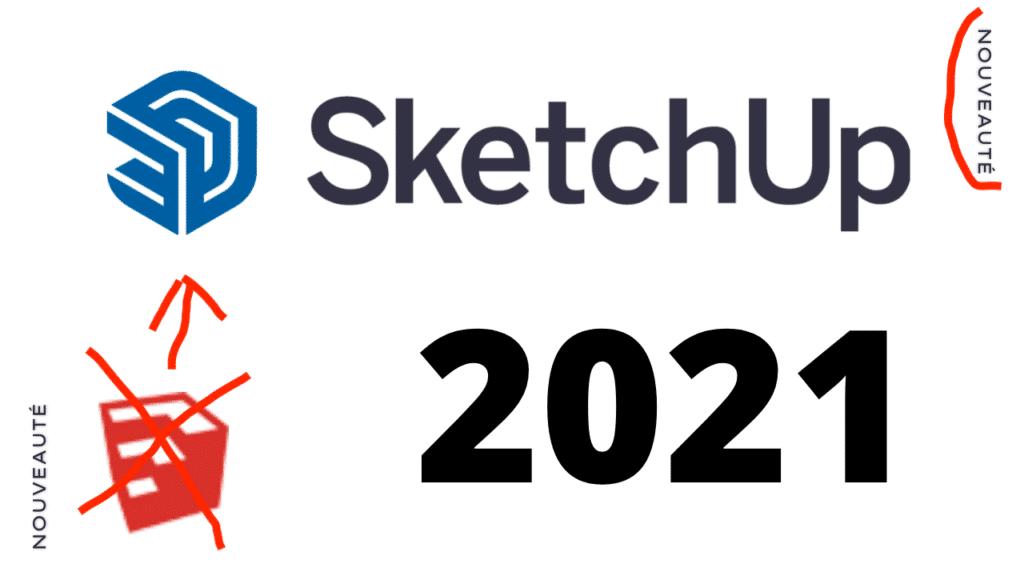 Mise à jour Sketchup 2021