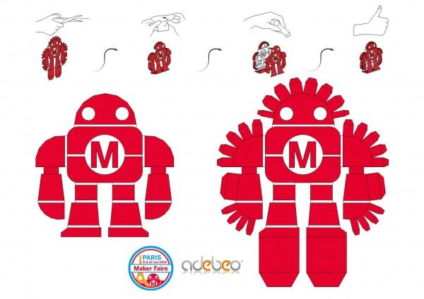 makerrobot papertoy a3