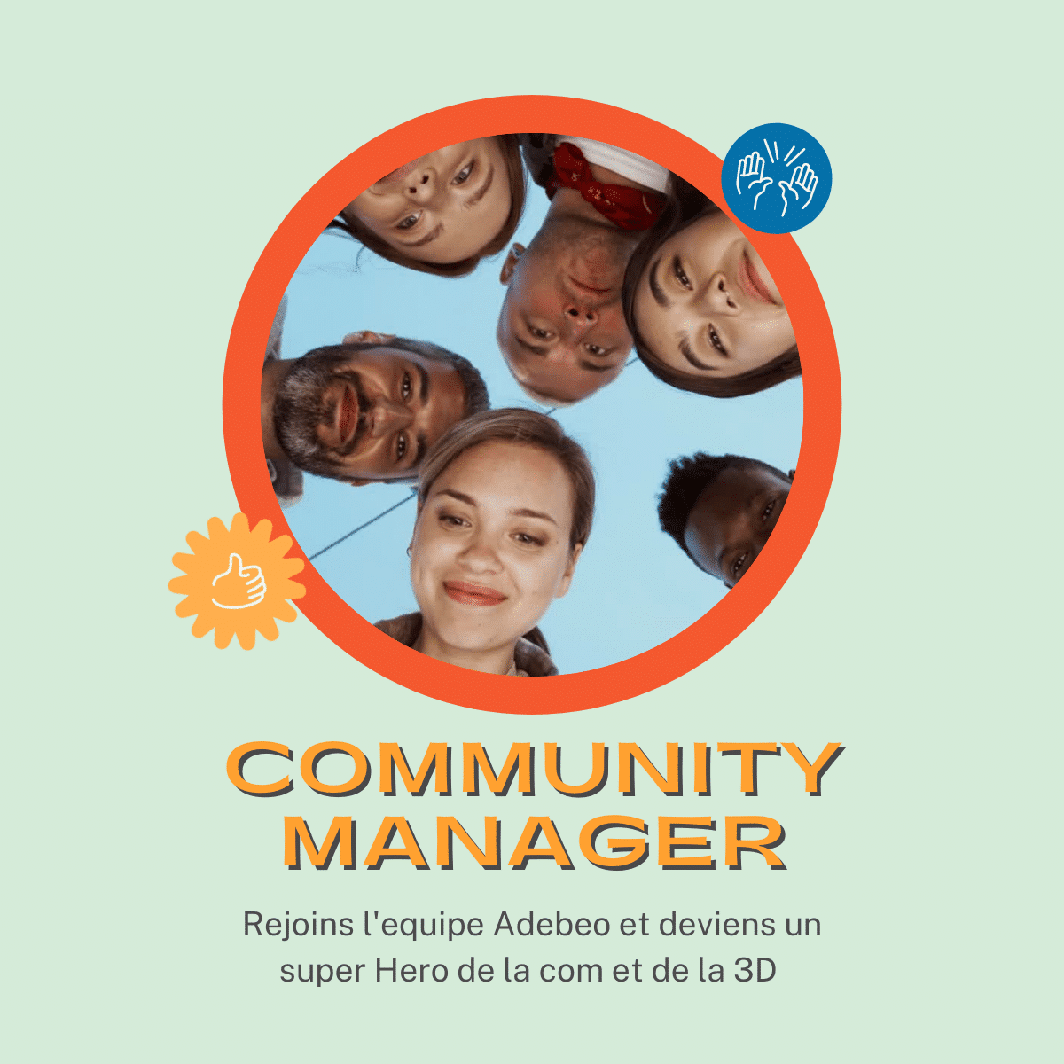 Poste Community Manager