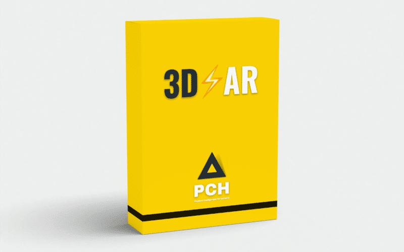 Box produit PCH 3D Réalité Augmentée
